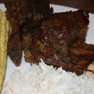 CrockPot Barbecue Beef Ribs.