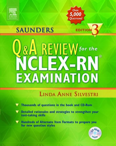 Saunders nclex rn questions and answers free download