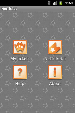 NetTicket - screenshot