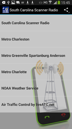 Scanner Radio South Carolina