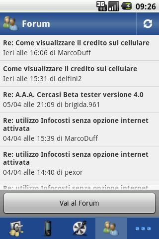 InfoCosti Tre- screenshot