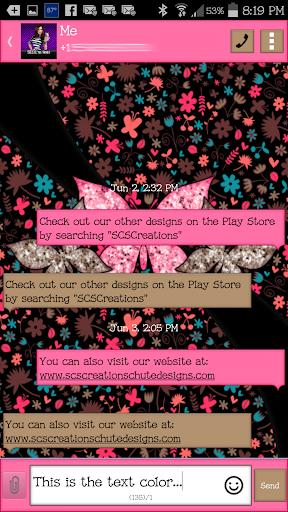 【免費個人化App】GO SMS - Butterflies 11-APP點子