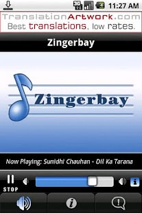 Zingerbay Radio - screenshot thumbnail
