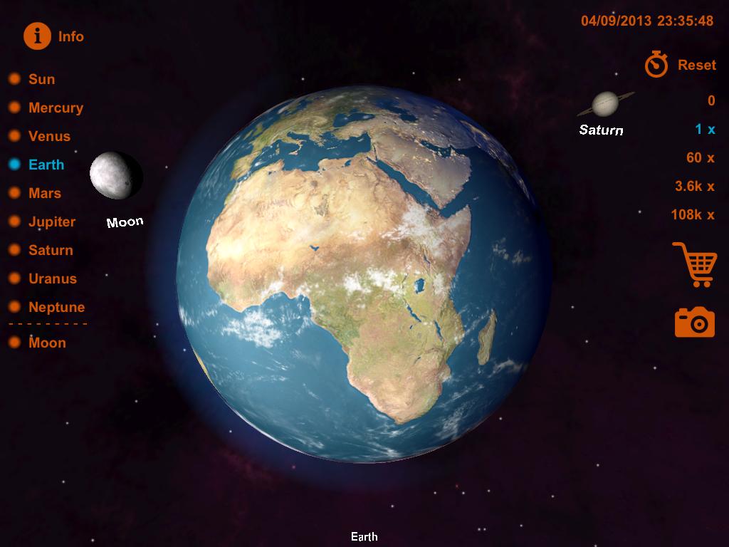 solar system of 3 d-#38