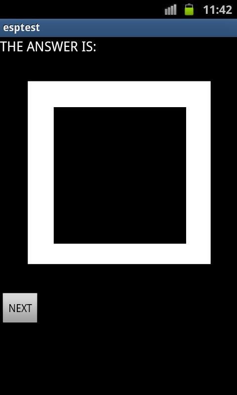 Esp Test- screenshot
