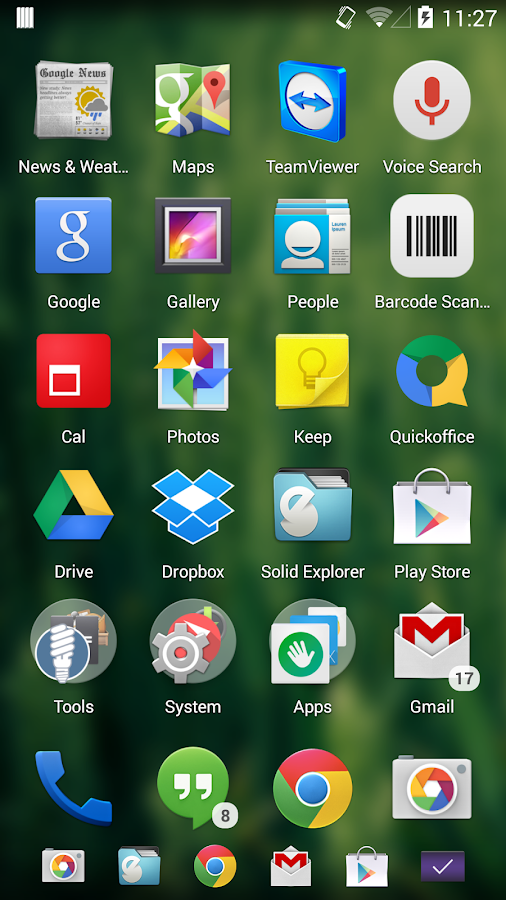 Xtended NavBar - screenshot