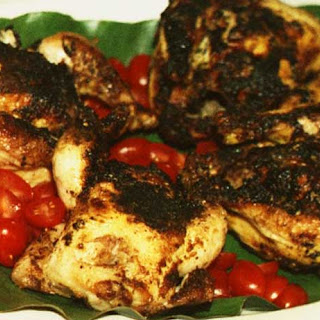 Broiled Marinated Quail.