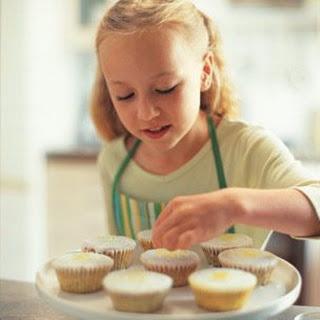 Sweet Lemon Cupcakes.