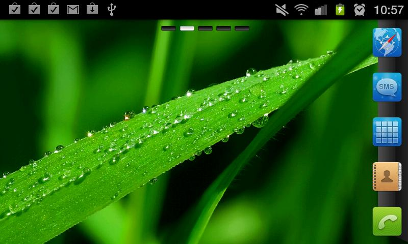 Drops GO Launcher EX Theme - screenshot