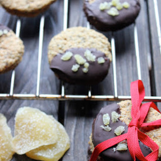 Chocolate & Ginger Holiday Chia Seed Cookies