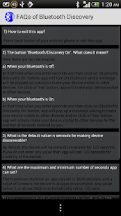 Bluetooth Discovery- screenshot thumbnail