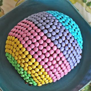 Easter Egg Cake.