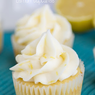 Perfect Triple Lemon Cupcakes