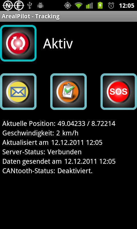 ArealPilot Fleetwork- screenshot