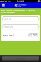 Screenshot of SouthCrest Mobile