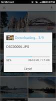 Screenshot of Wi-Fi SD