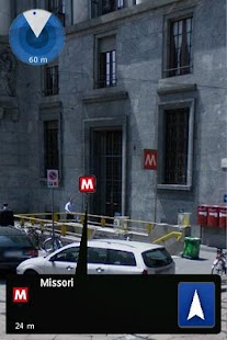 Milan Metro Augmented Reality- screenshot thumbnail