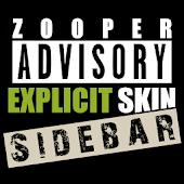 Explicit Zooper Sidebar