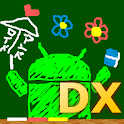 DX drawing board logo
