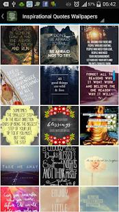Inspirational Quote Wallpapers screenshot