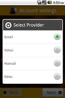 Screenshot of Email Scheduler