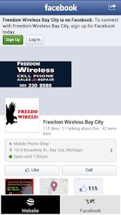 Freedom Wireless of Bay City - screenshot thumbnail
