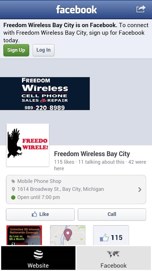 Freedom Wireless of Bay City - screenshot