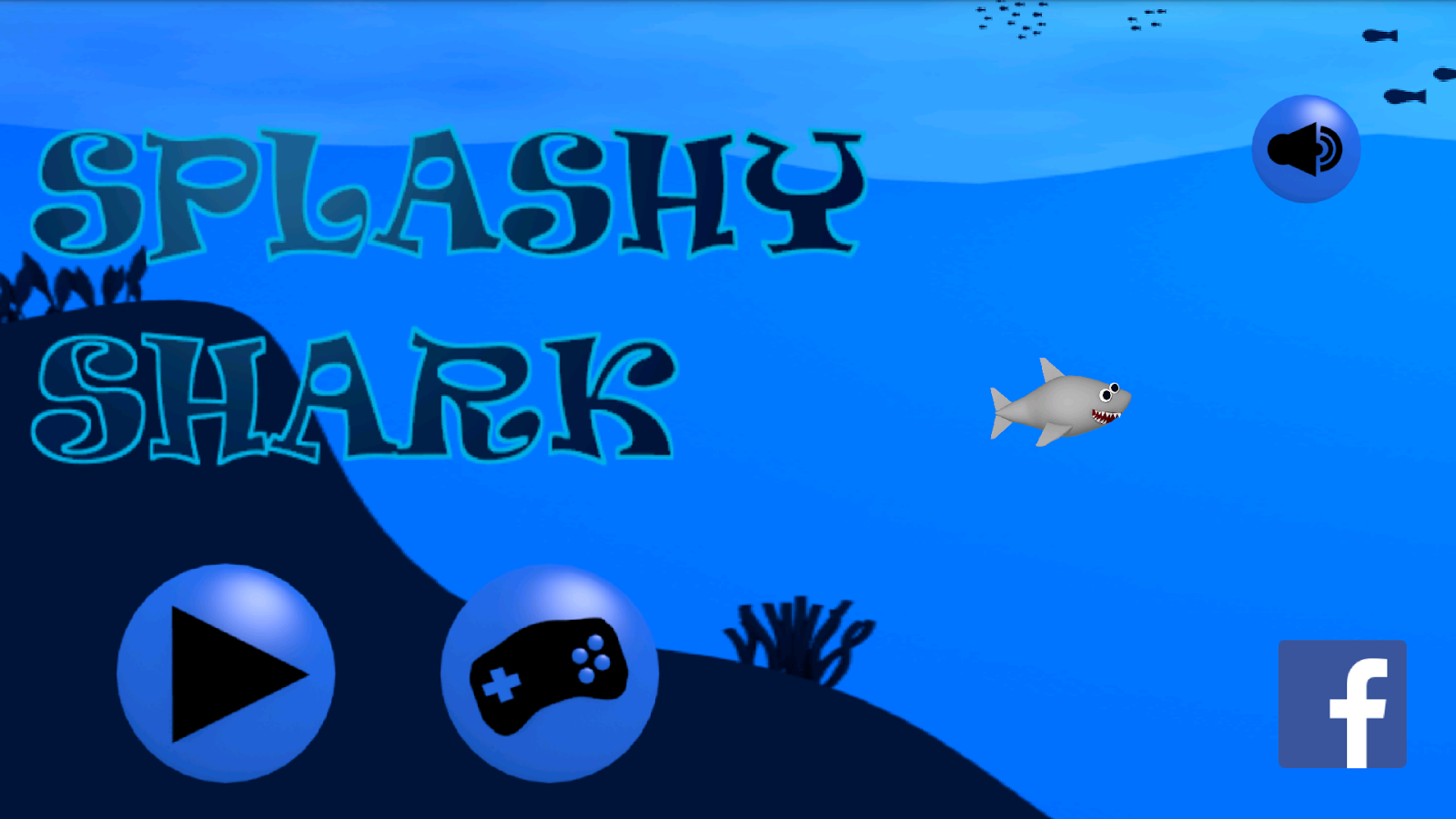 Splashy Shark- screenshot