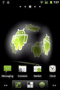 Droid Live Wallpaper - screenshot thumbnail