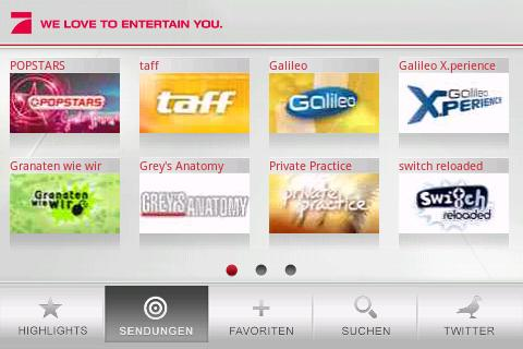 ProSieben - screenshot