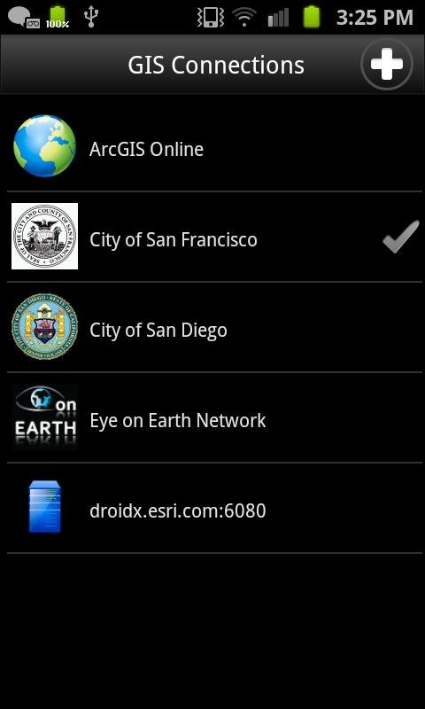 ArcGIS - screenshot