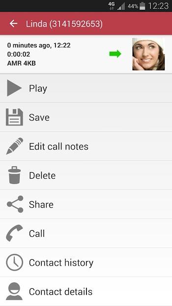 Automatic Call Recorder Pro- screenshot