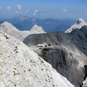 Kredarica by Igor Gruber - Landscapes Mountains & Hills ( mountain, hut )