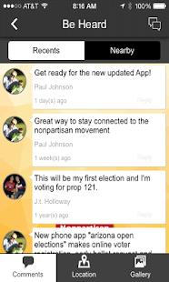 Arizona Nonpartisan Movement - screenshot thumbnail