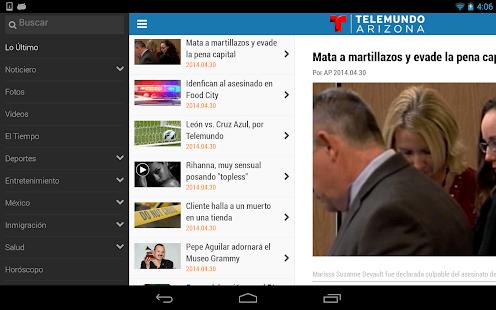 Telemundo Arizona- screenshot thumbnail