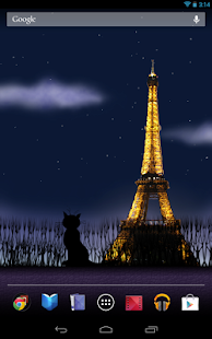 Mon Paris Live Wallpaper Free- screenshot thumbnail