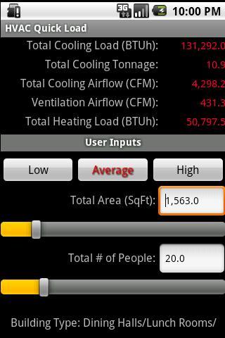 HVAC Quick Load- screenshot