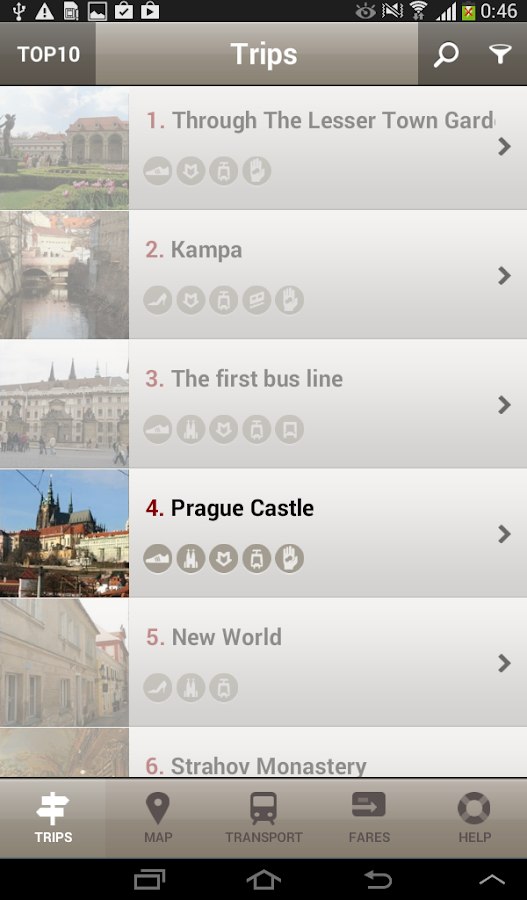 Prague Trips - Free Edition- screenshot
