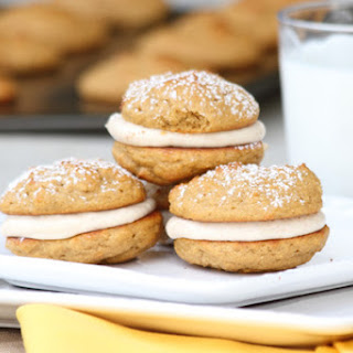 Pumpkin Cookie Sandwiches.