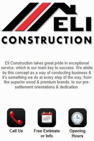 【免費商業App】Eli Construction-APP點子