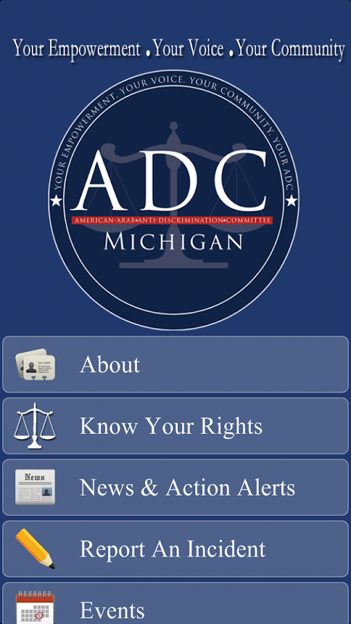 ADC-Michigan Civil Rights- screenshot