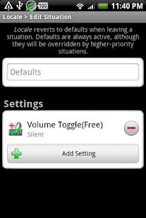 【免費程式庫與試用程式App】Locale Volume Toggle(P Plug-in-APP點子