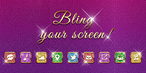 Bling Your Screen GO Theme