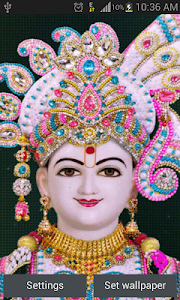 Swaminarayan Live Wallpaper screenshot 0