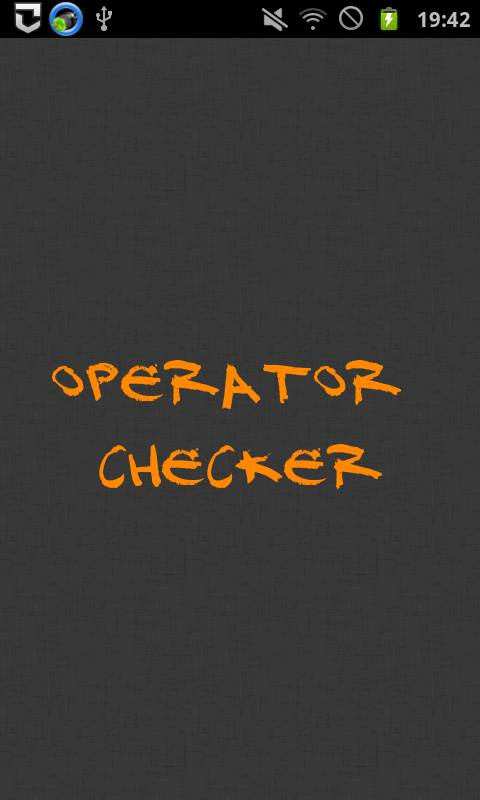 Operator Checker- screenshot