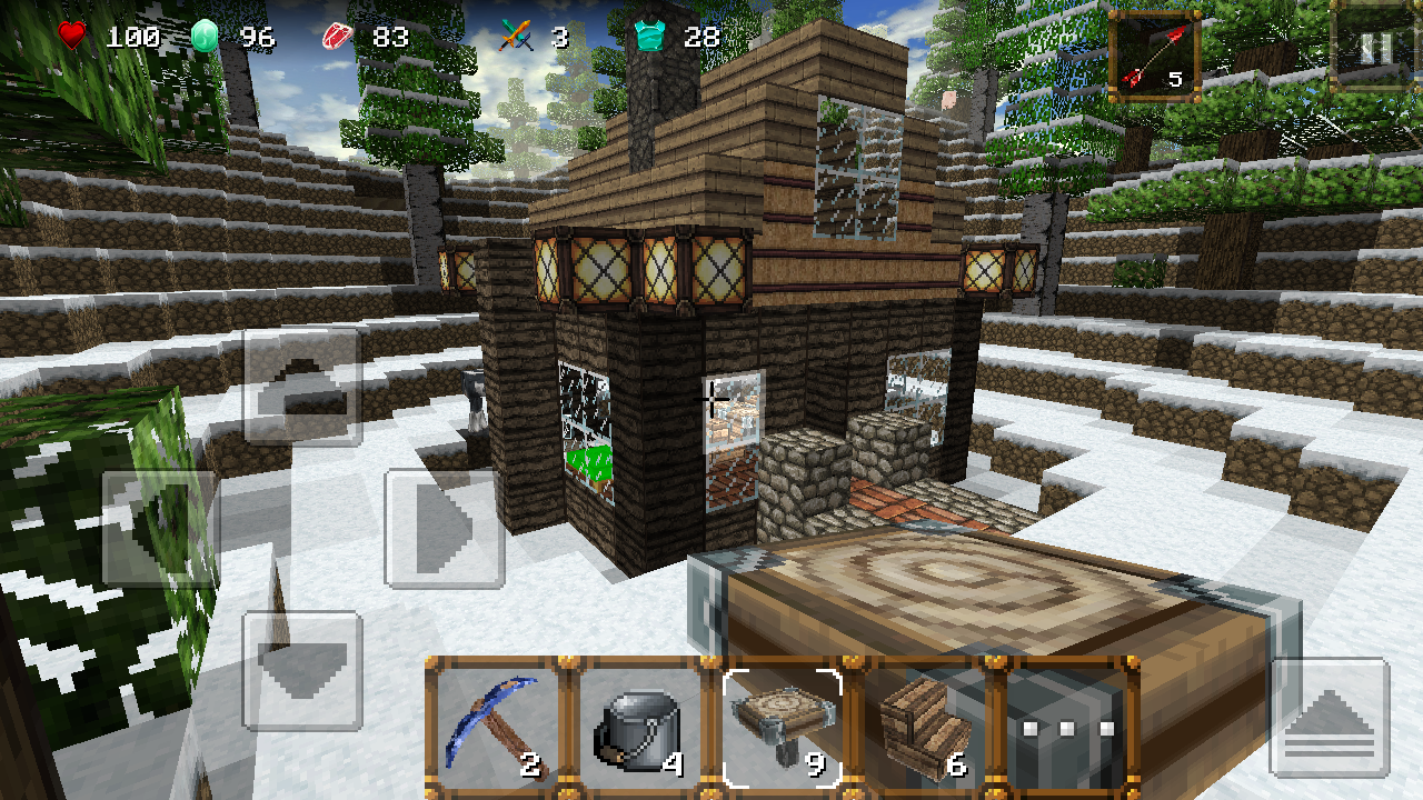 Screenshots of Winter Craft 3: Mine Build for iPhone
