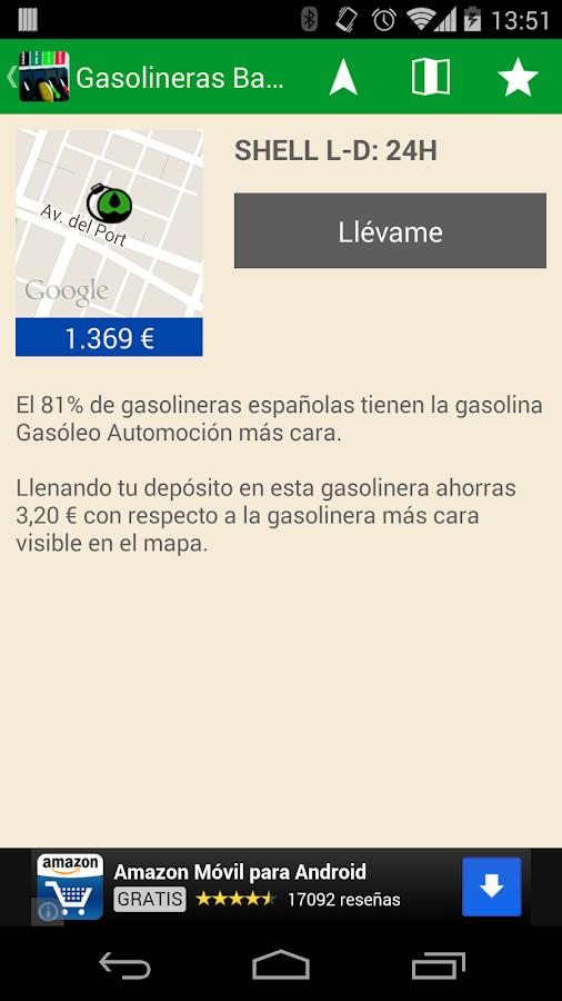 Gasolineras Baratas - screenshot