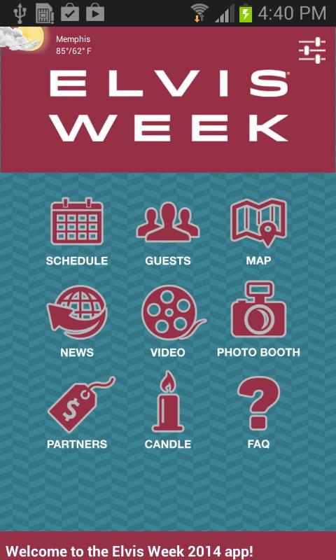 Elvis Week 2014 - screenshot