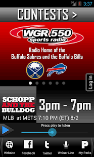 WGR – Sports Radio 550 - screenshot thumbnail