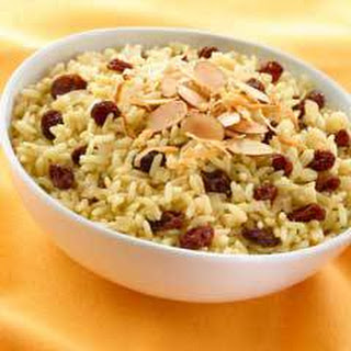 Ginger, Coconut & Currant Rice.